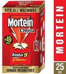 Mortein Insta5 Chotu Vaporizer Refill (25 ml, Red, Pack of 10)