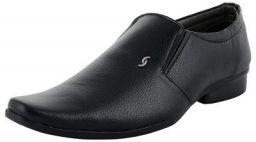 DECENT Men's Black Formal Shoes