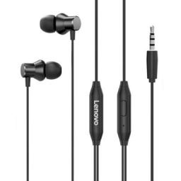 Lenovo HF130 Wired in Ear Earphone 3.5mm Headphone with Mic Volume Control
