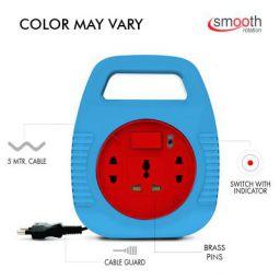 Elove 6 Amp Multi Plug Point Extension Board, Plastic (Multi Color)
