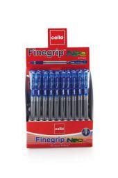 Cello Finegrip Neo Ballpen - Pack of 50 (Blue)