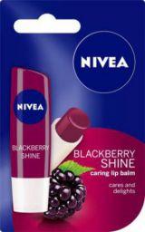 Nivea Shine Caring Lip Balm Berry Shine