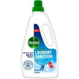 Dettol After Detergent Wash Liquid Laundry Sanitizer, Fresh Linen - 960ml