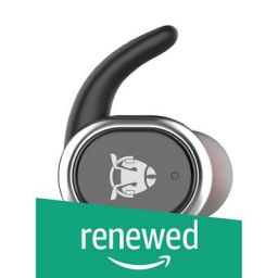 (Renewed) Ant Audio Mono TWS 100 Mini Bluetooth Earbud with Noise Cancelling Mic - Black