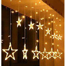 Tu Casa DW-429 - Star Light Curtain - 12 Stars - with Flickering Controller