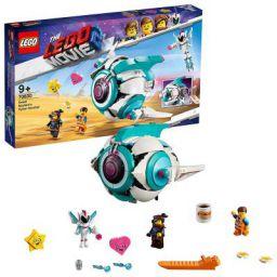 LEGO The Movie 2 Sweet Mayhem's Systar Starship Building Blocks (502 Pcs) 70830
