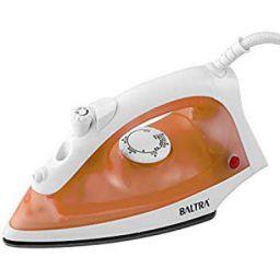 Baltra Perfect BTI-127 1200-Watt Steam Iron (White/Orange)
