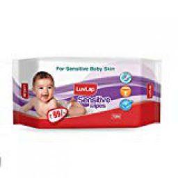 LuvLap Baby Wipes Sensitive 72's