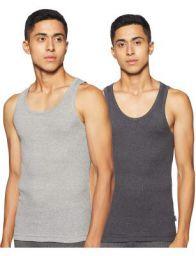 one8 by Virat Kohli Men's Vest (Pack of 2)