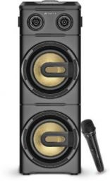 Sansui MusicBlast 2 TWS, Karaoke Compatible, Super Bass, Live Recording 80 W Bluetooth Party Speaker (Black, 2.2 Channel)
