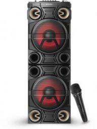 Sansui MusicBlast 1 TWS, Karaoke Compatible, X-Bass Booster 85 W Bluetooth Party Speaker (Black, 2.2 Channel)