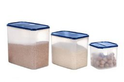 Signoraware Insulated Plastic Kitchen Organiser, (12ltr+9ltr+4.5ltr)
