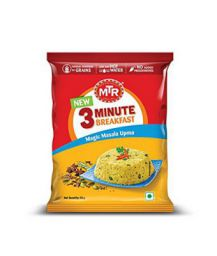 MTR 3 Minute Breakfast Magic Masala Upma Pouch, 60g
