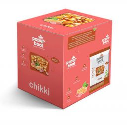 Paper Boat Peanut Chikki, 10 x 100 g