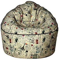 Sattva Vintage XXXL Sofa Bean Bag Without Beans (Stamps)