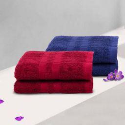 Flipkart SmartBuy Cotton 340 GSM Hand Towel Set
