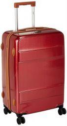Tamo Polycarbonate 17.3 inches Vermillion Red Suitcase (5016011816483)