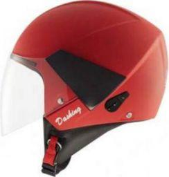 Steelbird SB-33 Dashing Motorbike Helmet (Red, 580 MM)