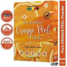 Organix Mantra Pure Orange Peel Powder For Skin Whitening 200 Grams