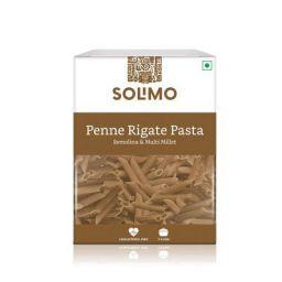 Amazon Brand - Solimo Semolina & Multi-millet Penne Pasta, 500g