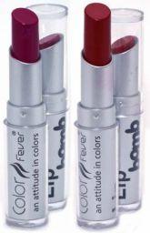 Color Fever Lip Bomb Lipstick - Red/Pink Romance