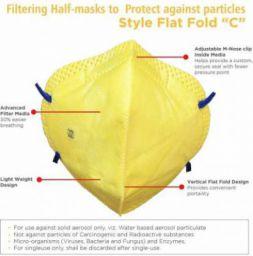 Friendskart anti pollution mask for men women n95 with inbuilt filter air masks reusable Mask and Respirator Mask