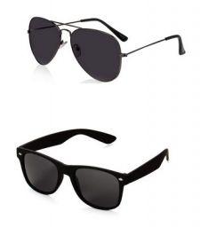 Generic Men's Aviator and Wayfarer Sunglasses