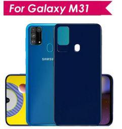 WOW Imagine Anti Slip Soft Flexible Case For Galaxy M31