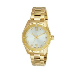 Giordano Multifunctional Silver Dial Women's Watch