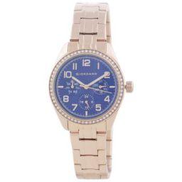 Giordano Multifunction Blue Dial Women's Watch - 2880-33