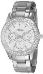 Fossil Stella Analog Silver Dial Women's Watch - ES2860