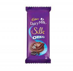 Cadbury Dairy Milk Silk Oreo Chocolate Bar, 2 x 130 g