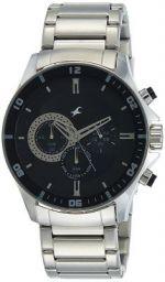 Fastrack Chrono Upgrade Analog Black Dial Men's Watch -NK3072SM02