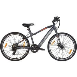 Lectro Clix 26T 7 Speed Electric Cycle | 3 Level LED Display | Max Speed of 25kmph | 25-40 KMS Per Charge | 95% assembled