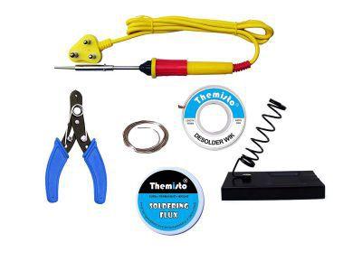 Themisto Electric Soldering Iron Kit/25W Soldering Iron Kit (6 In 1)