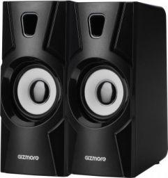 GIZMORE TWIN 2010 10 W Laptop/Desktop Speaker  (Black, 2.0 Channel)