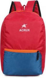Acrux Little Casual Baggie for School, College, Tuition, Travel Waterproof Backpack