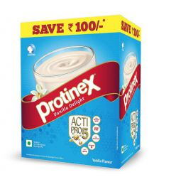 Protinex Vanilla Delight with Actipro5 for Good Muscle Health, Bag, 750 g