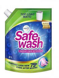 Safewash Matic Top Load Liquid Detergent by Wipro, 2L