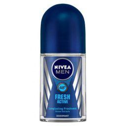 NIVEA MEN Deodorant Roll-on, Fresh Active Original, 50ml