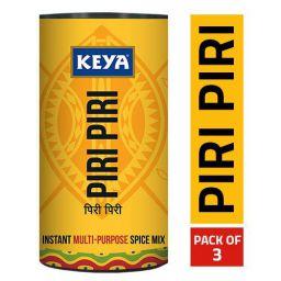 Keya Piri Piri - Instant Seasoning Mix, Original Flavour, 3 Way Sprinkler Cap, Pack of 3,240 Grams