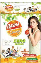 Rasna Native Haat - Zero Sugar - Orange,25g (Pack of 6)