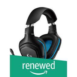 (Renewed) Logitech G431 7.1 Surround Sound Gaming Headset with DTS Headphone (Black)