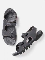Roadster Men Grey Sports Sandal