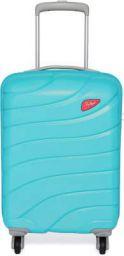 Skybags HI-VOL STROLLY 56 360 (CR.TEX) TRQ Expandable Cabin Luggage - 22 inch Blue