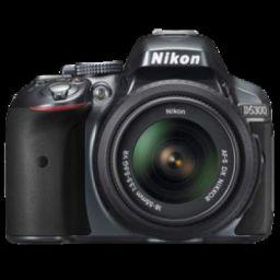 Nikon 24.2 MP DSLR Camera Body with 18 - 55 mm Lens (D5300, Black)