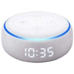Amazon Echo Dot 3rd Generation 15 W Smart Speaker with Clock
