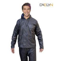 DAELYN Men's Heavy duty Waterproof Windproof Raincoat