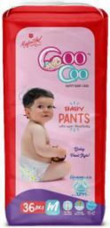 MAFATLAL Coocoo Baby Pullup Pants (Set of 36) - M  (36 Pieces)