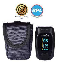 BPL Medical Technologies BPL Smart Oxy Finger Tip Pulse Oximeter (Black)